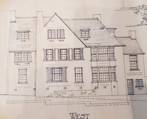 Northwich Surveyors. Building Plan of an old traditional house